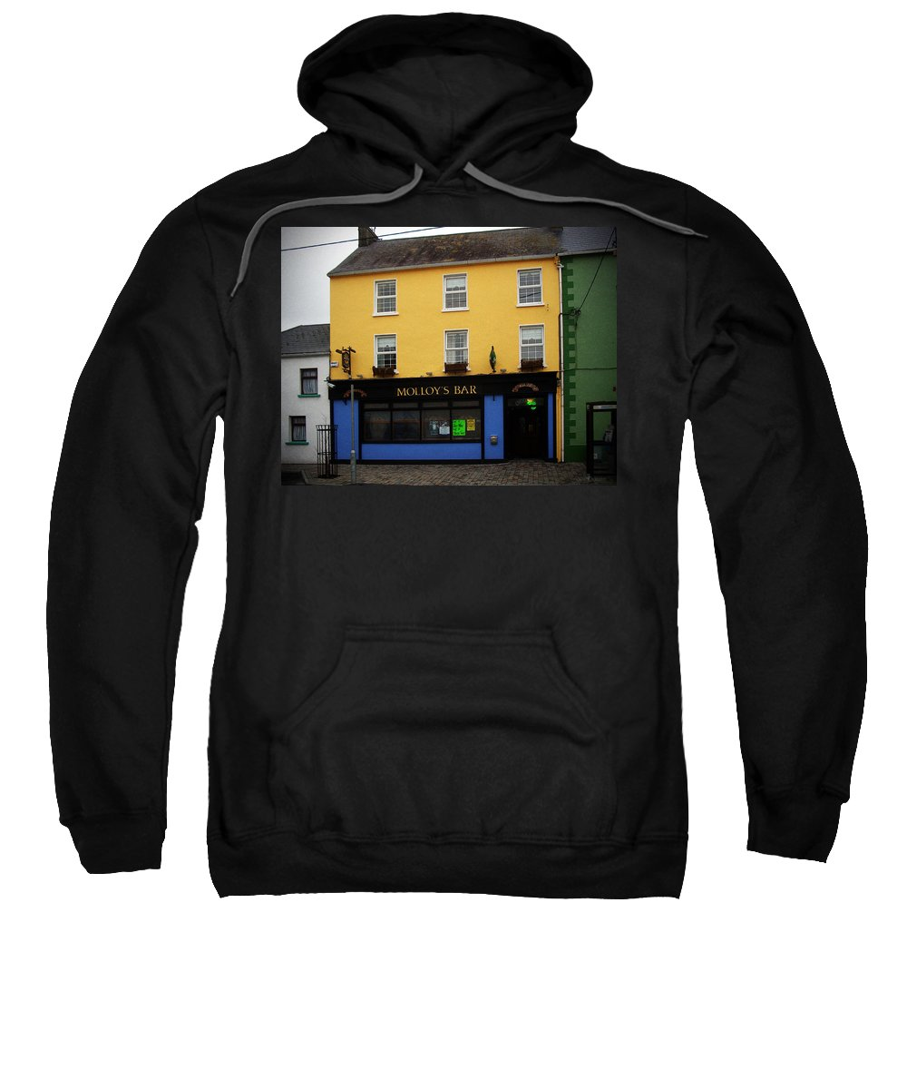 Pub Sweatshirt featuring the photograph Molloy by Tim Nyberg