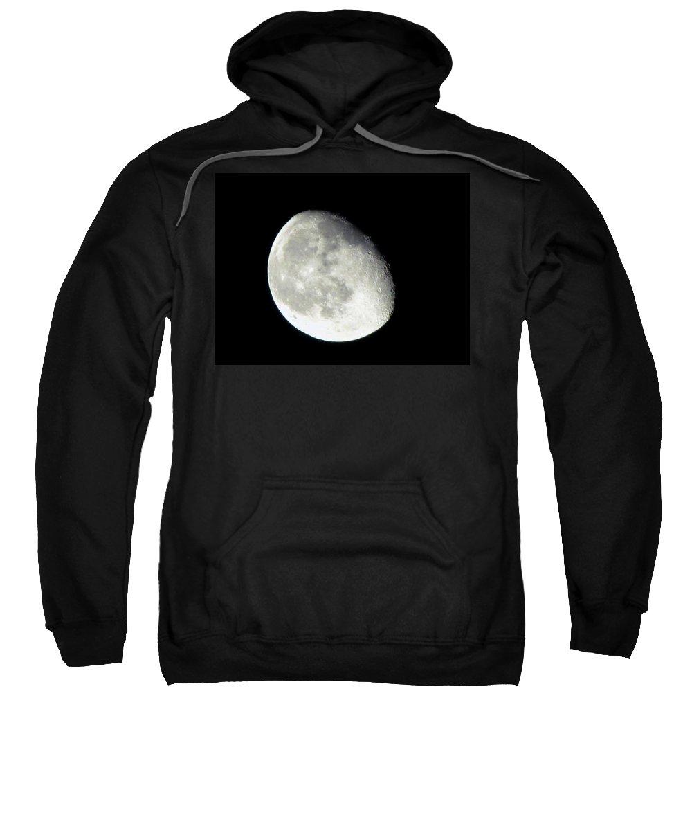 Moon Sweatshirt featuring the photograph Moon by Denise Keegan Frawley