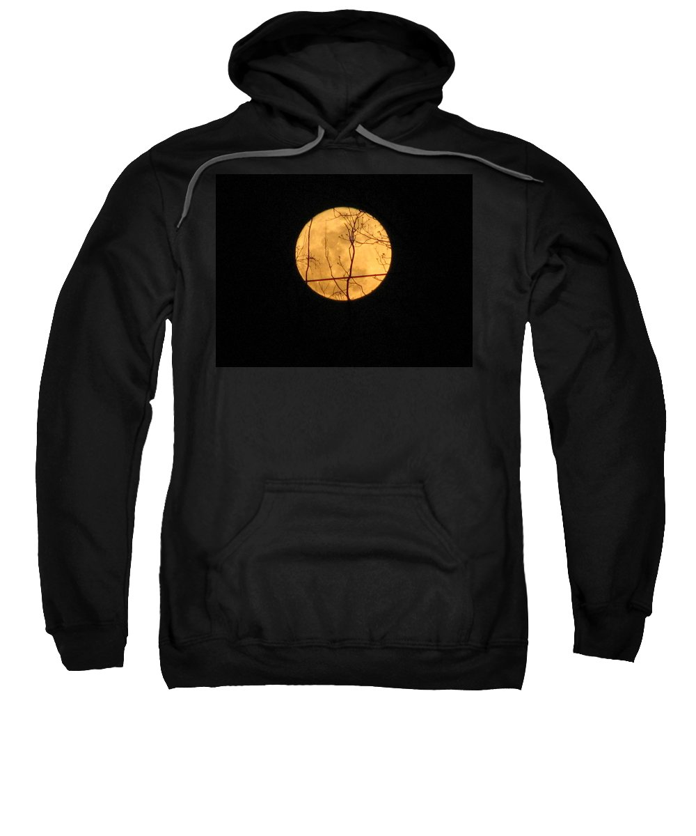 Moon Sweatshirt featuring the photograph Moon by Stacey May