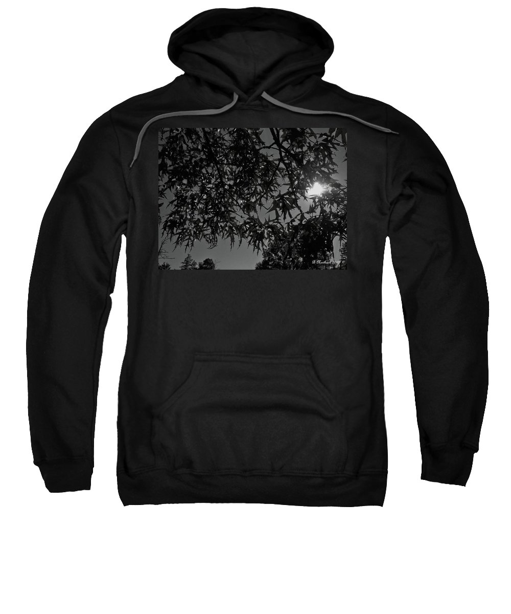 Moon Sweatshirt featuring the photograph Moonlight by Betty Northcutt