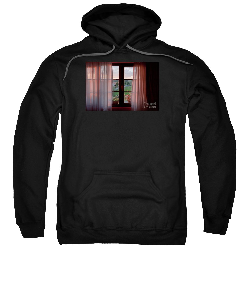 Window Sweatshirt featuring the photograph Morning Light by Lasse Ansaharju