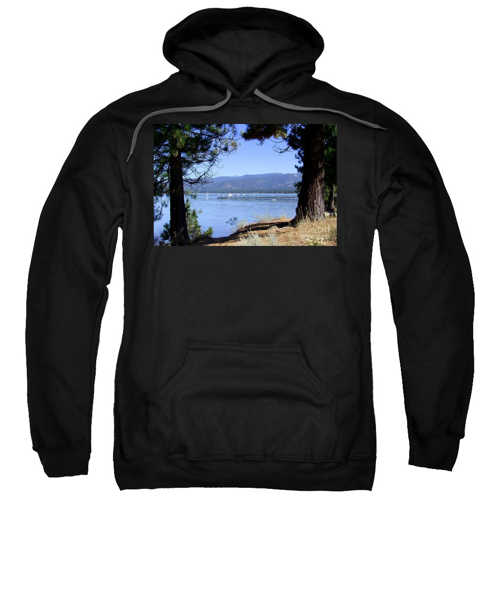 Lake Tahoe Sweatshirt featuring the photograph Morning On Lake Tahoe by Mary Deal