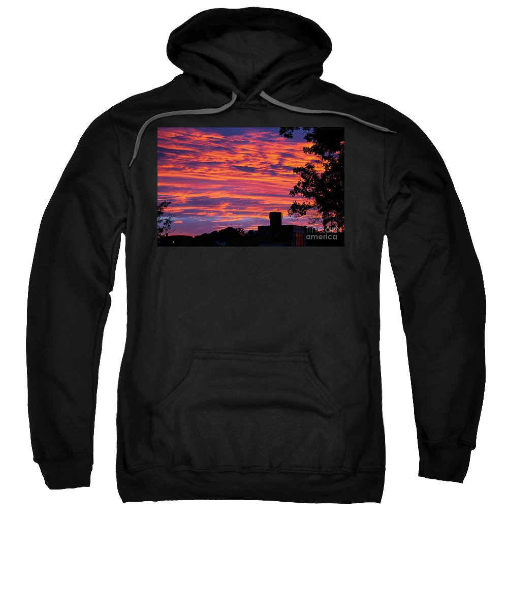 Sunrise Sweatshirt featuring the photograph Morning Sunrise by Kevin Gladwell
