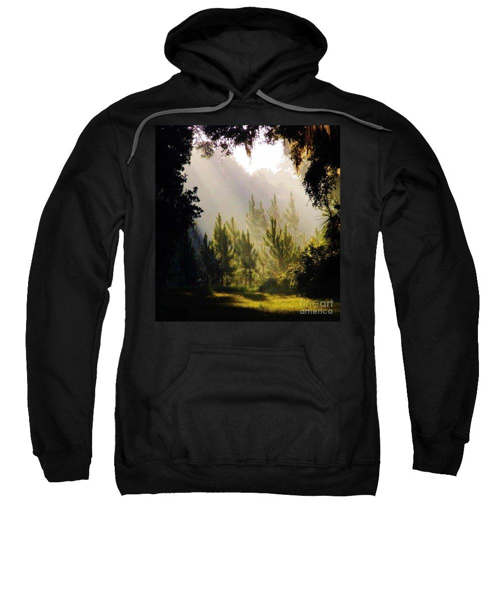Sunrise Sweatshirt featuring the photograph Morning Sunshine by D Hackett