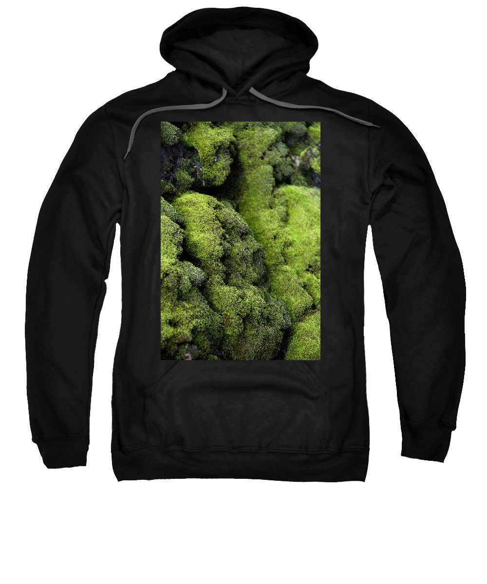 Photography Sweatshirt featuring the photograph Mounds Of Moss by Jackie Farnsworth