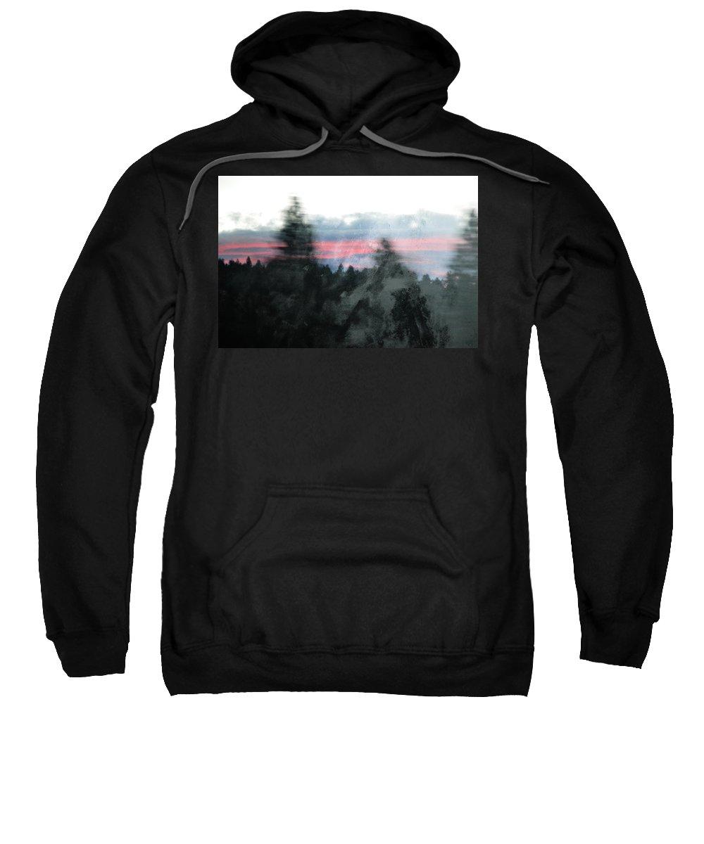California Sweatshirt featuring the photograph Mount Shasta Forest Sunrise by Kyle Hanson