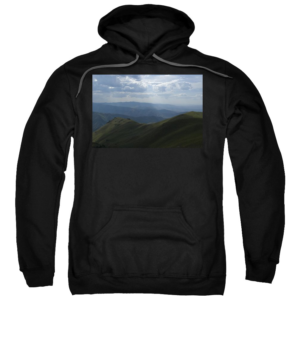 Mountain Sweatshirt featuring the photograph Mountain Top 3 by Sara Stevenson