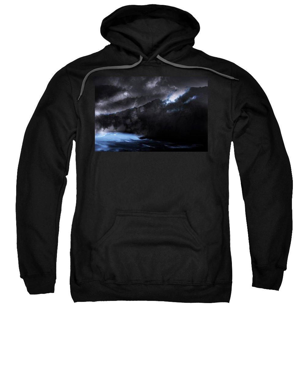North Carolina Sweatshirt featuring the photograph Mountains Of The Blue Ridge by Gray Artus