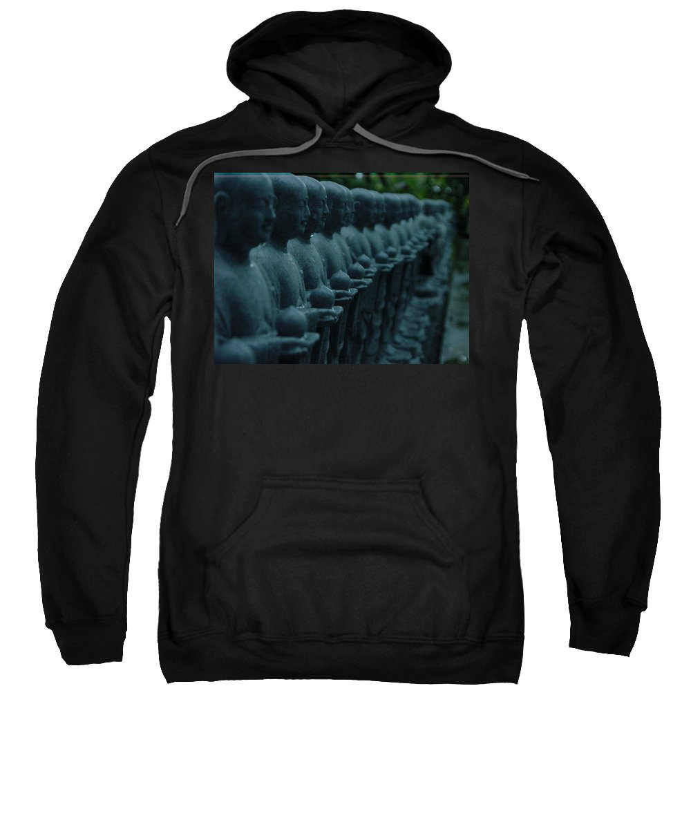 Statues Sweatshirt featuring the photograph Mourning Row by D Turner