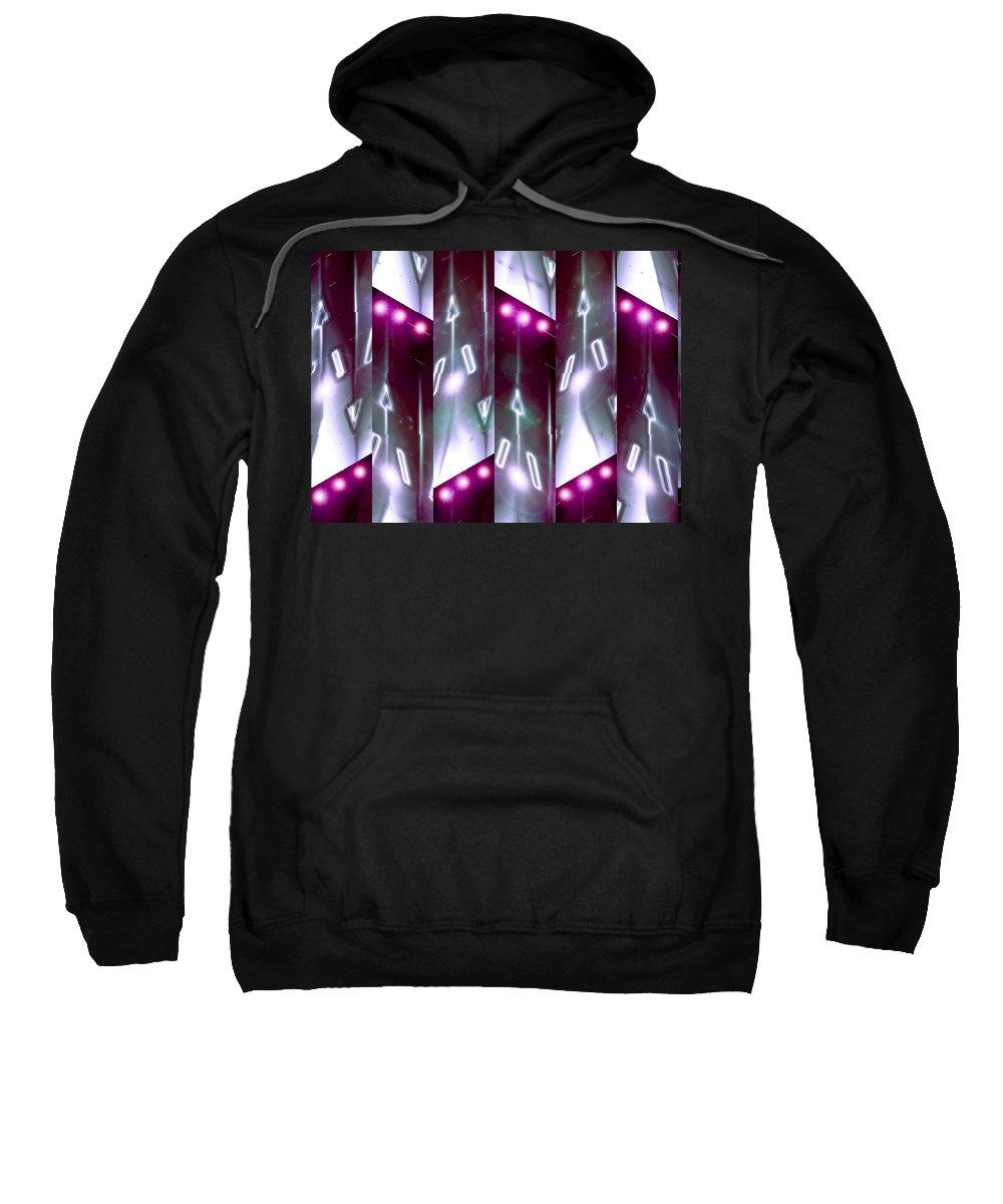 Moveonart! Digital Gallery Sweatshirt featuring the digital art Moveonart Jacobs Angels by Jacob Kanduch