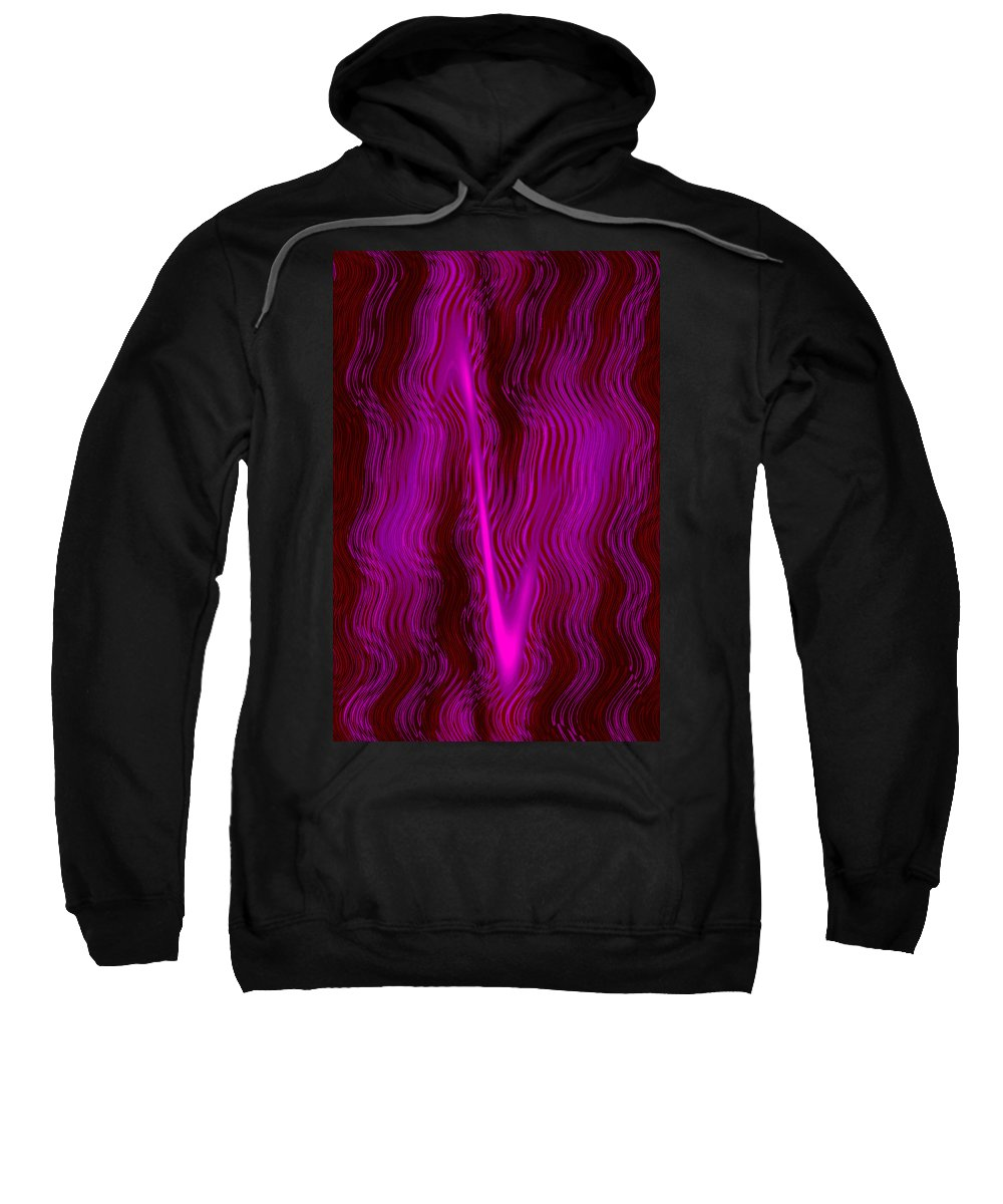 Moveonart Digital Gallery San Francisco California Lower Nob Hill Jacob Kane Kanduch Sweatshirt featuring the digital art Moveonart Mystery Series 2 by Jacob Kanduch