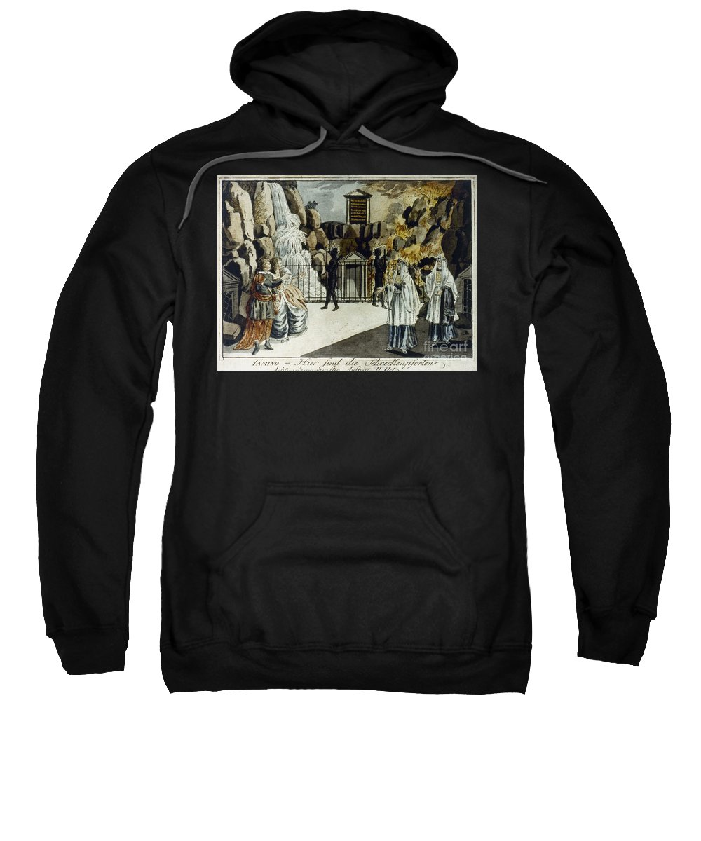18th Century Sweatshirt featuring the photograph Mozart: Magic Flute by Granger