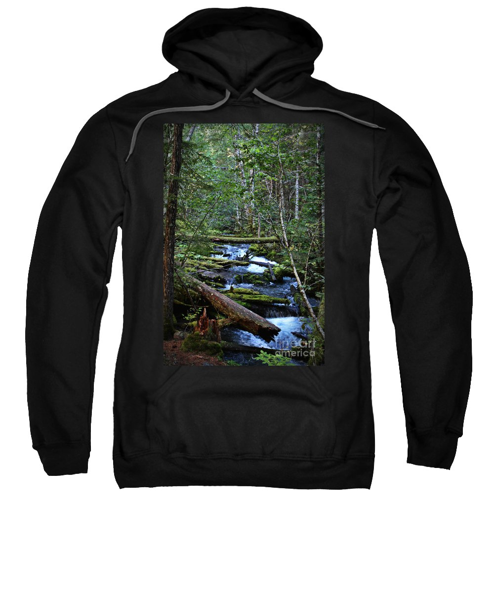 Nature Sweatshirt featuring the photograph Mt Hood Wilds by Michelle Williamson