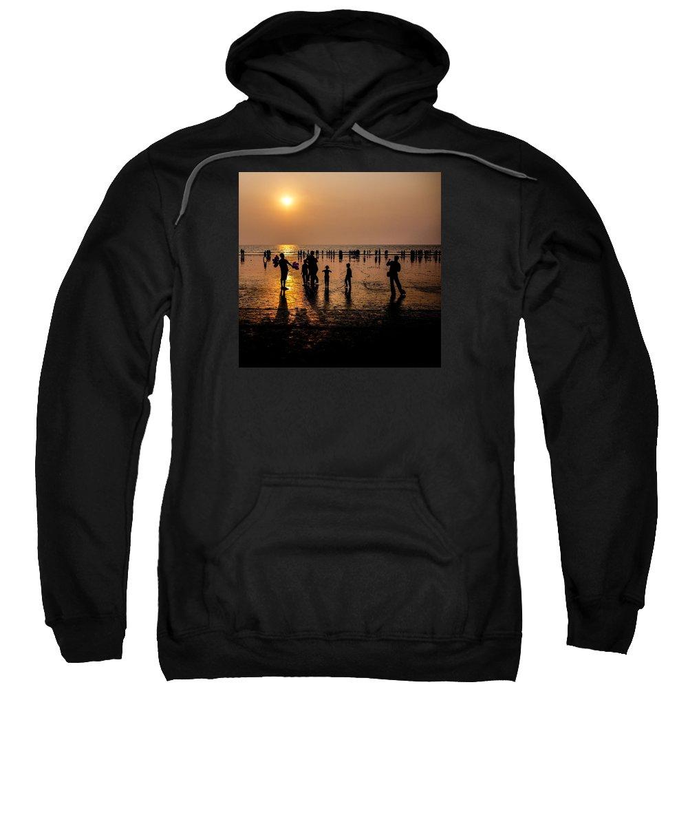 Mumbai Sweatshirt featuring the photograph Mumbai Sunset by M G Whittingham