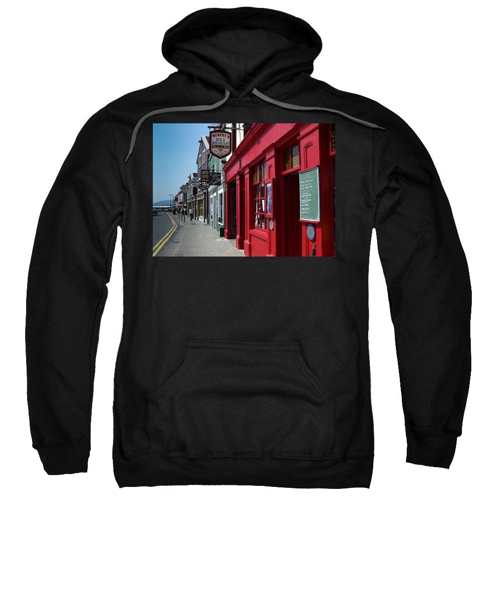 Irish Sweatshirt featuring the photograph Murphys Bed And Breakfast Dingle Ireland by Teresa Mucha