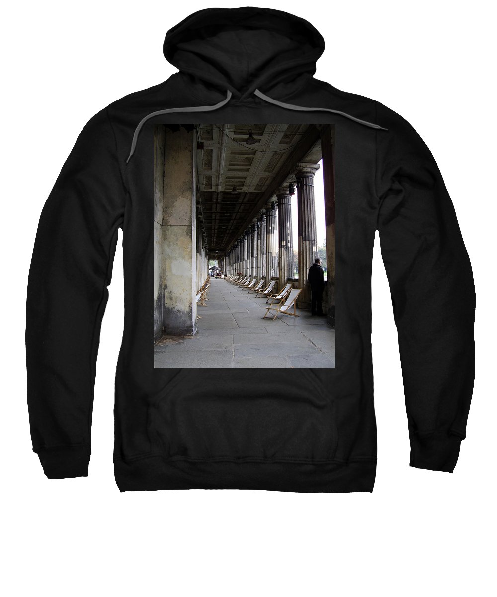 Museumsinsel Sweatshirt featuring the photograph Museumsinsel by Flavia Westerwelle