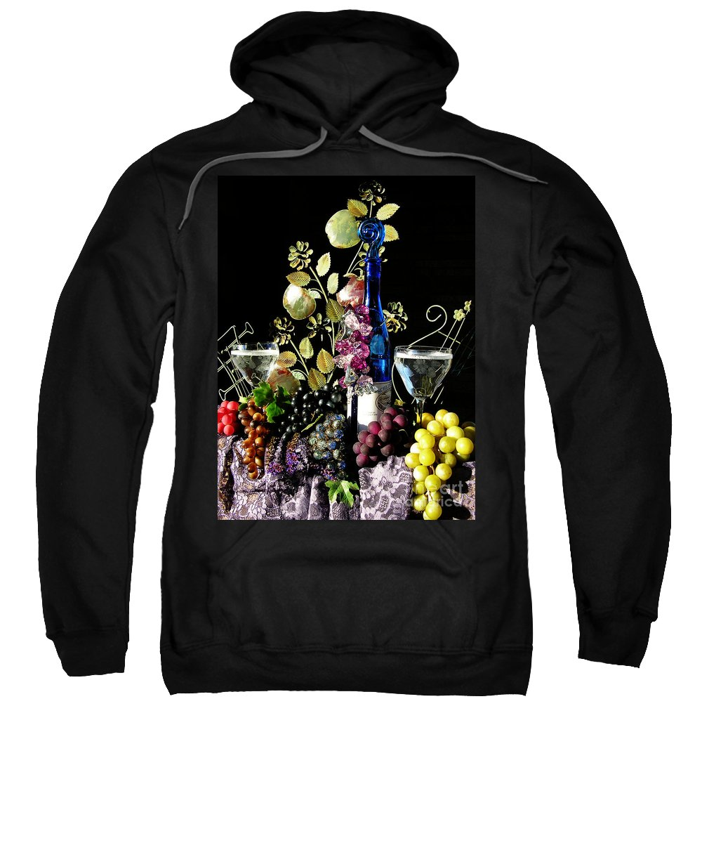 Wine Sweatshirt featuring the photograph Music With Wine by Anthony Wilkening