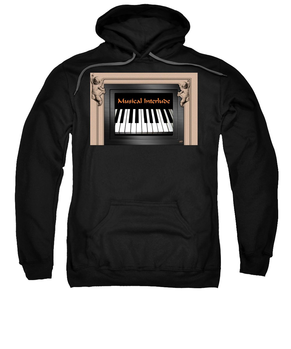 Architecture Sweatshirt featuring the digital art Musical Interlude by Will Borden