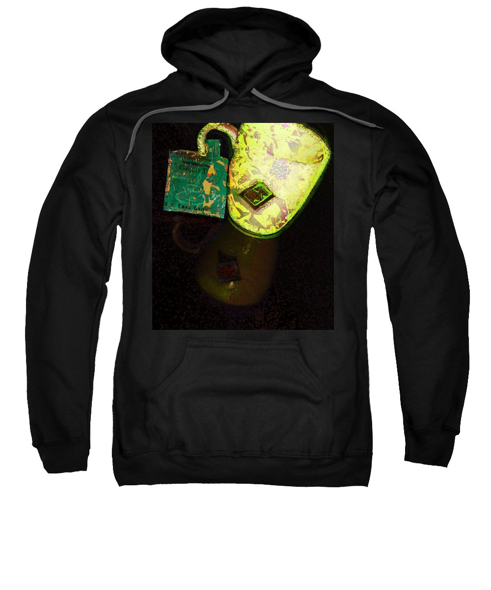 Cup Sweatshirt featuring the photograph My Cup Of Tea by Donna Bentley