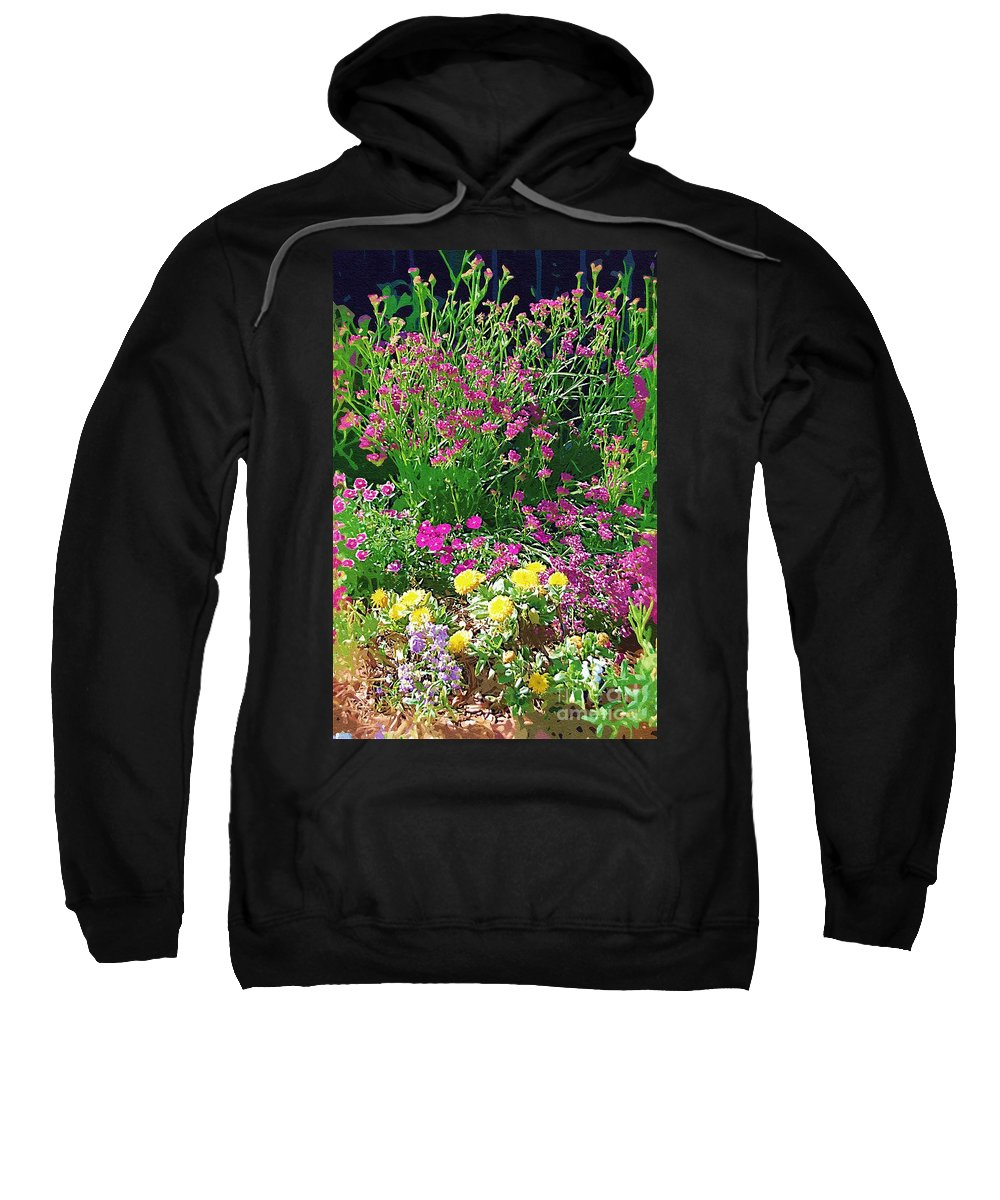 Gardens Sweatshirt featuring the photograph My Garden  by Donna Bentley