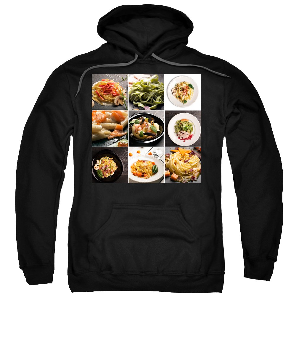 Food Sweatshirt featuring the photograph My Italian Life by Vadim Goodwill