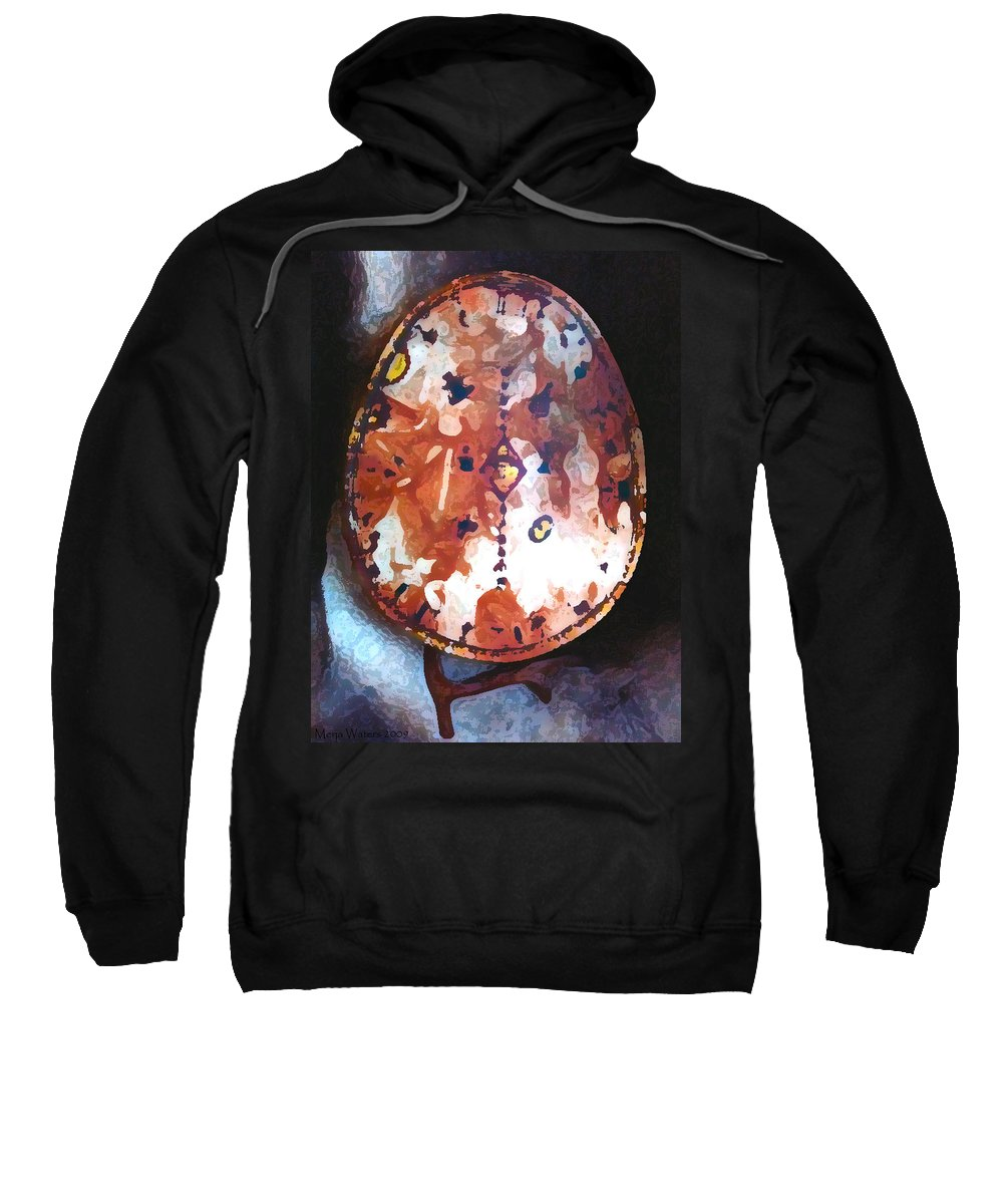 Magic Sweatshirt featuring the photograph My Magic Drum by Merja Waters