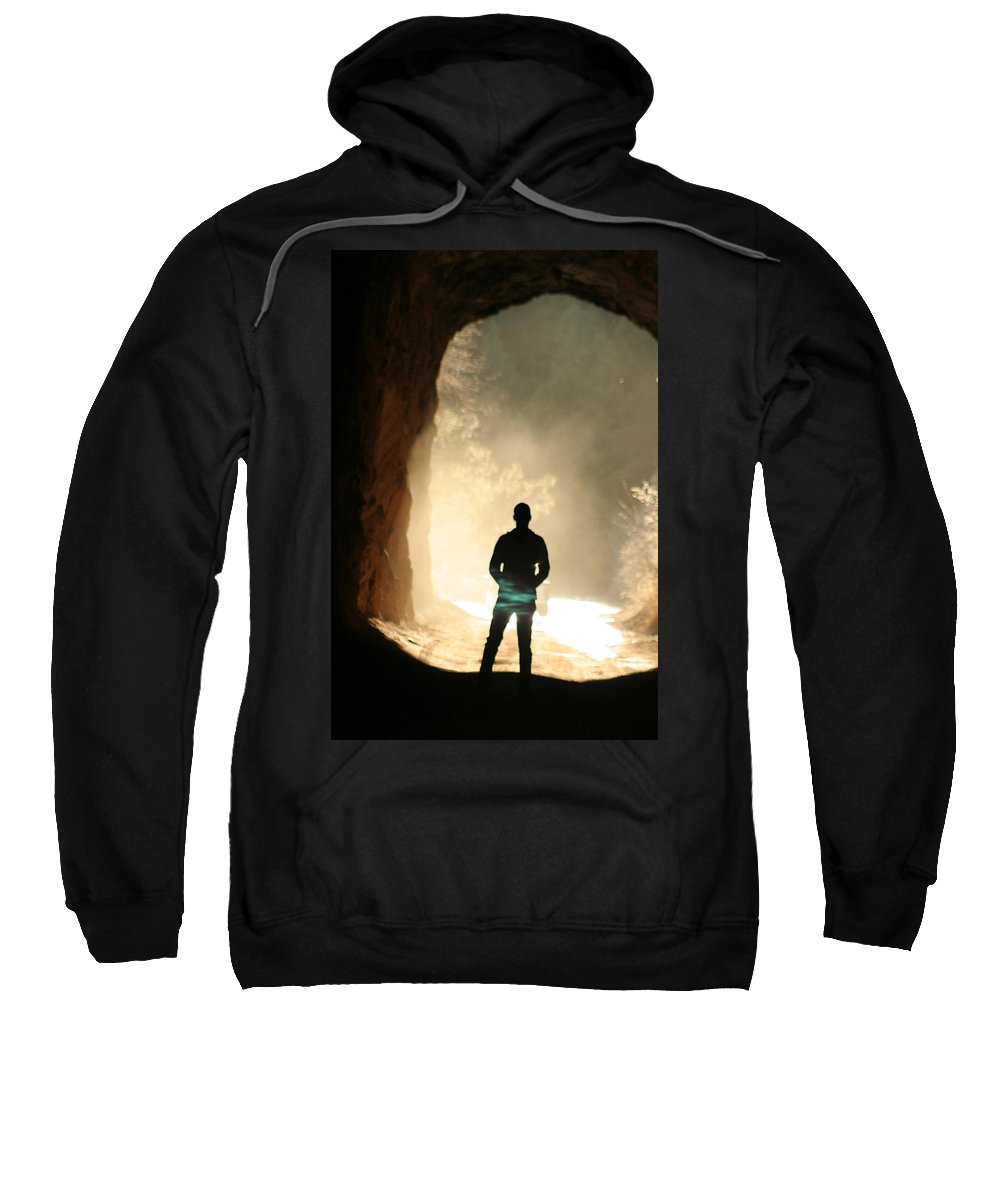 Mystery Sweatshirt featuring the photograph Mystery by Ric Bascobert