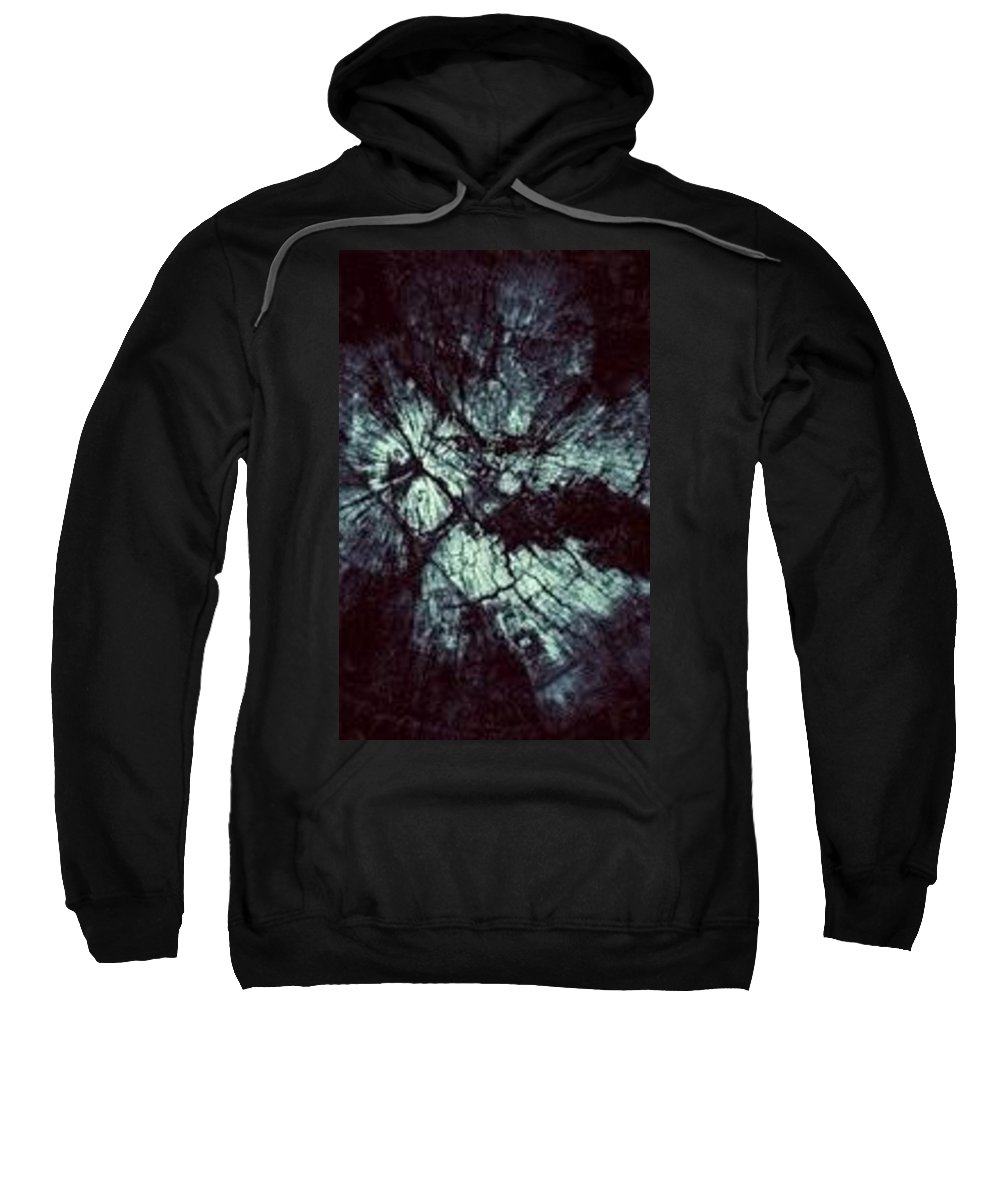Different Dimensions Of Colors Sweatshirt featuring the photograph Mystery World by Kimberly Tudo Sanchez