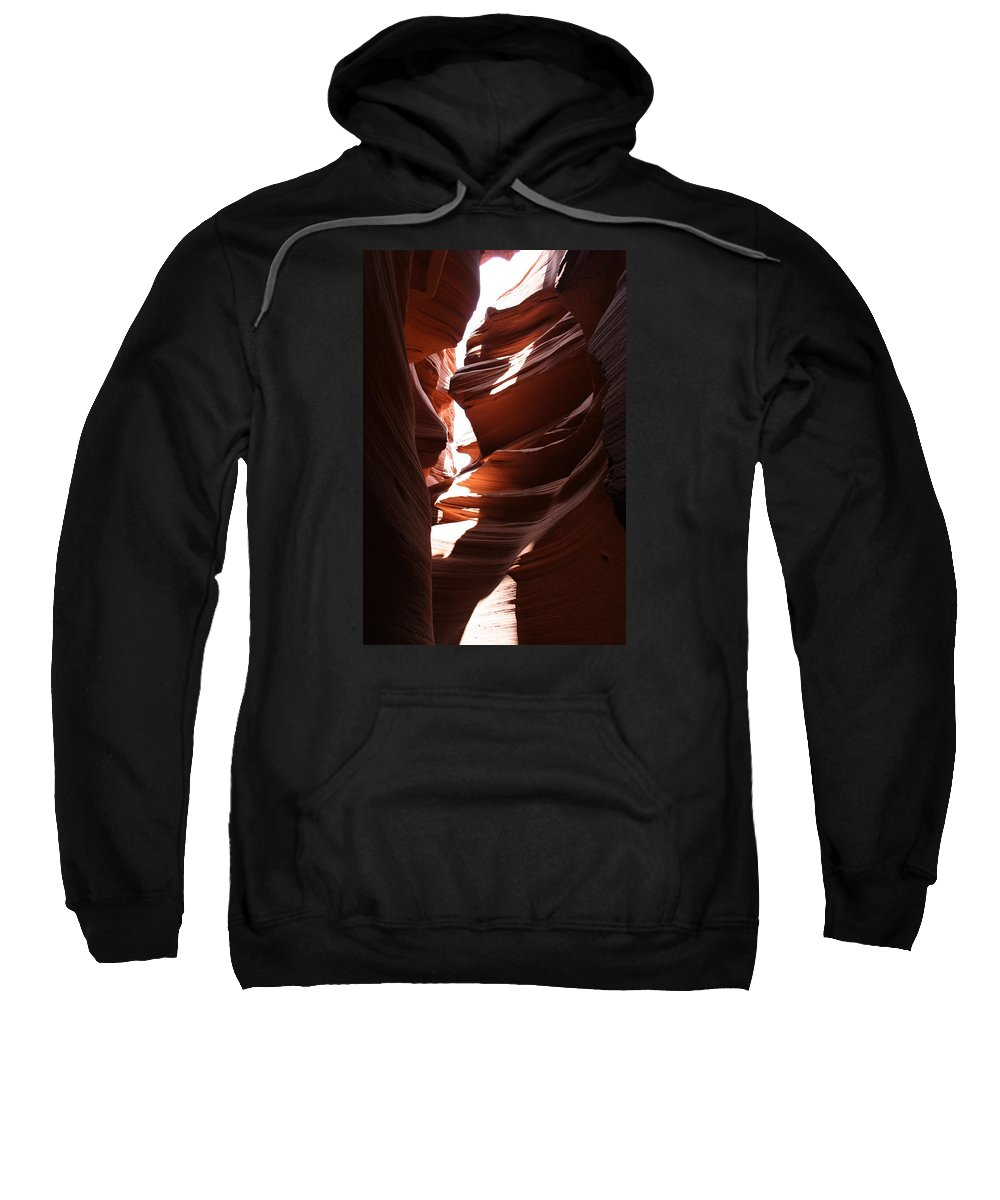 Canyon Sweatshirt featuring the photograph Narrow Canyon Ix by Christiane Schulze Art And Photography