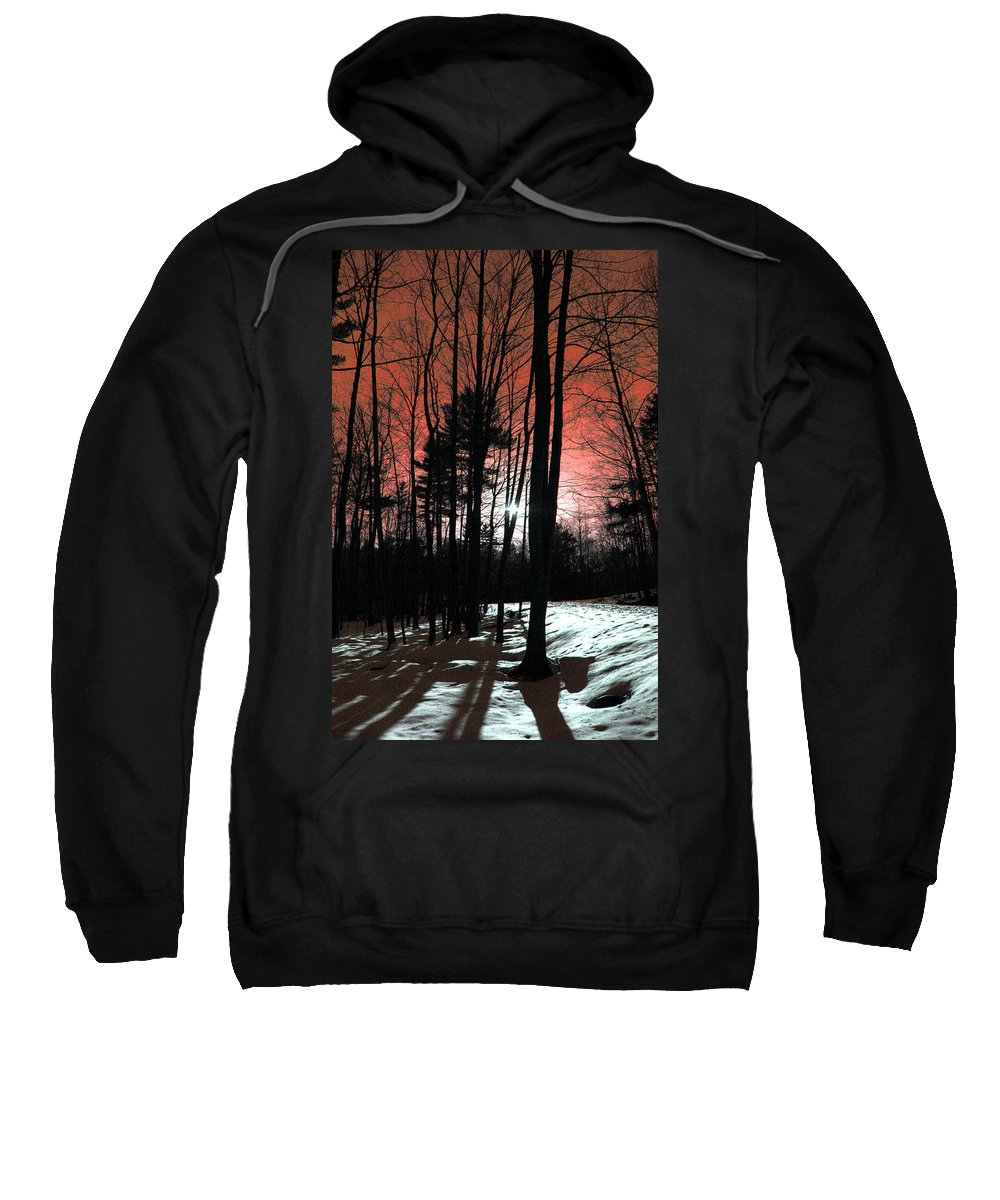Nature Sweatshirt featuring the photograph Nature Of Wood by Mark Ashkenazi