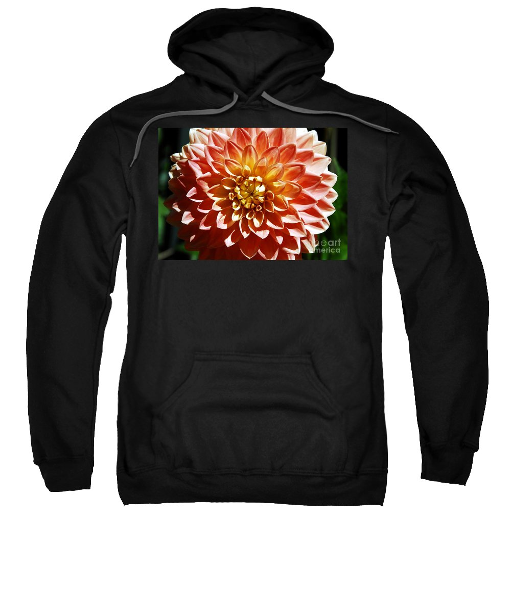 Flower Sweatshirt featuring the photograph Nature's Brilliance by David Lee Thompson