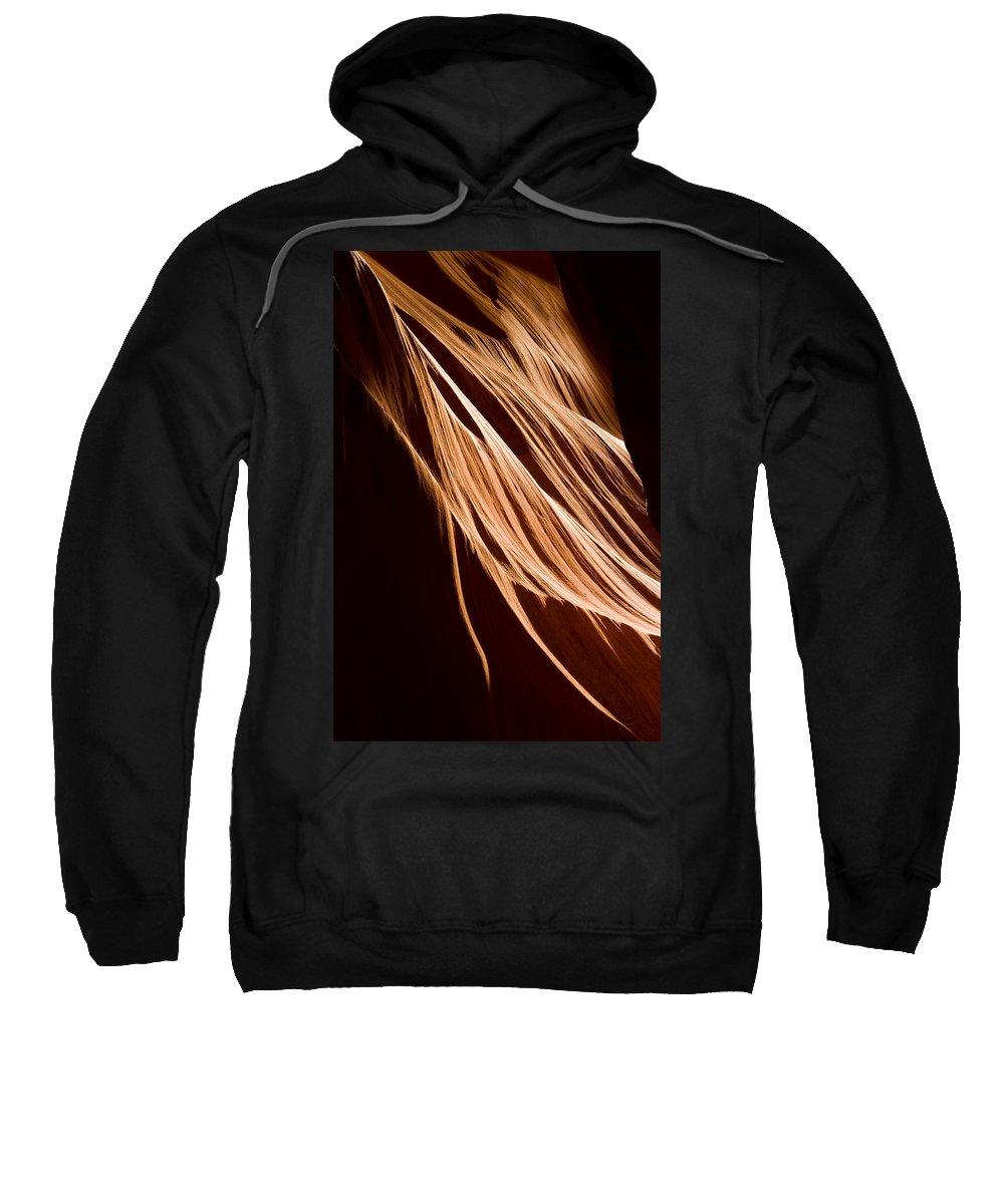 3scape Photos Sweatshirt featuring the photograph Natures Lines by Adam Romanowicz