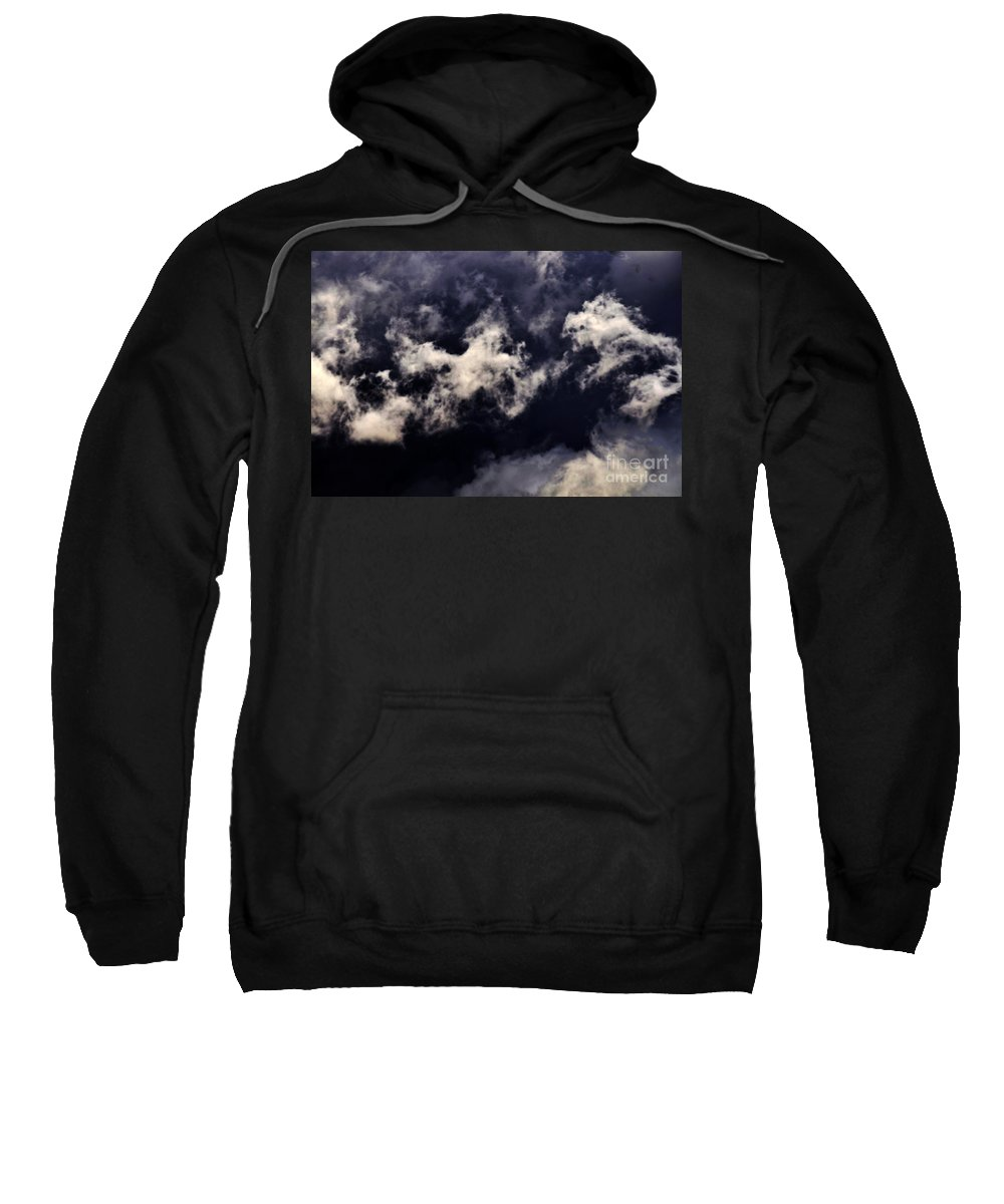 Clay Sweatshirt featuring the photograph Natures Paint Daubs by Clayton Bruster