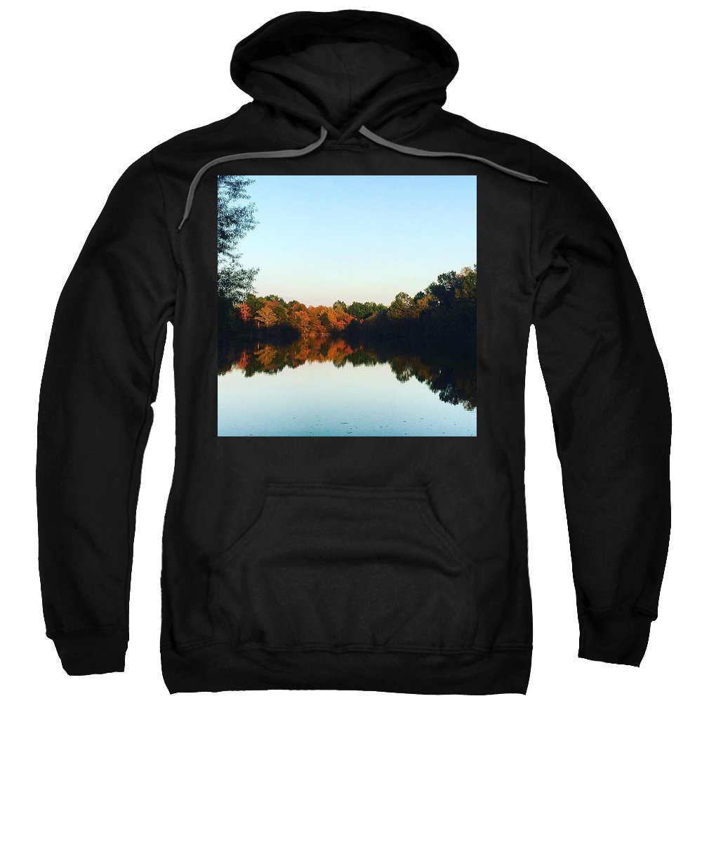 Landscape Sweatshirt featuring the photograph Nature's Reflections by Shaylea Teel