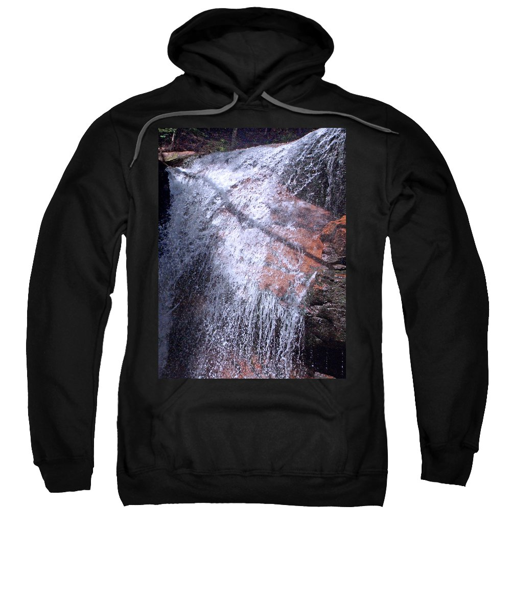 Forest Sweatshirt featuring the photograph Nature's Shower Head by Mark Sellers