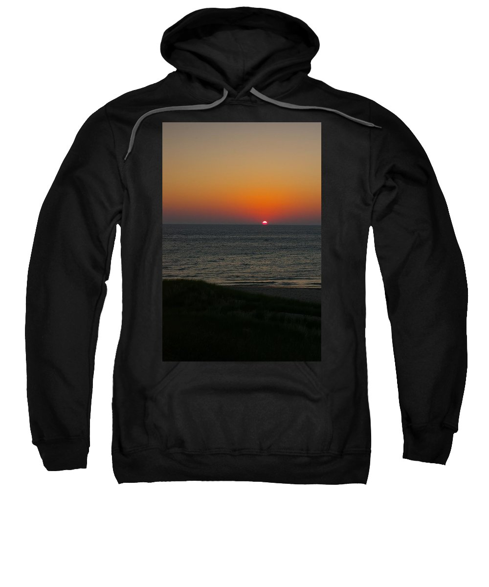 Water Sweatshirt featuring the photograph Near The End by Randy Pollard