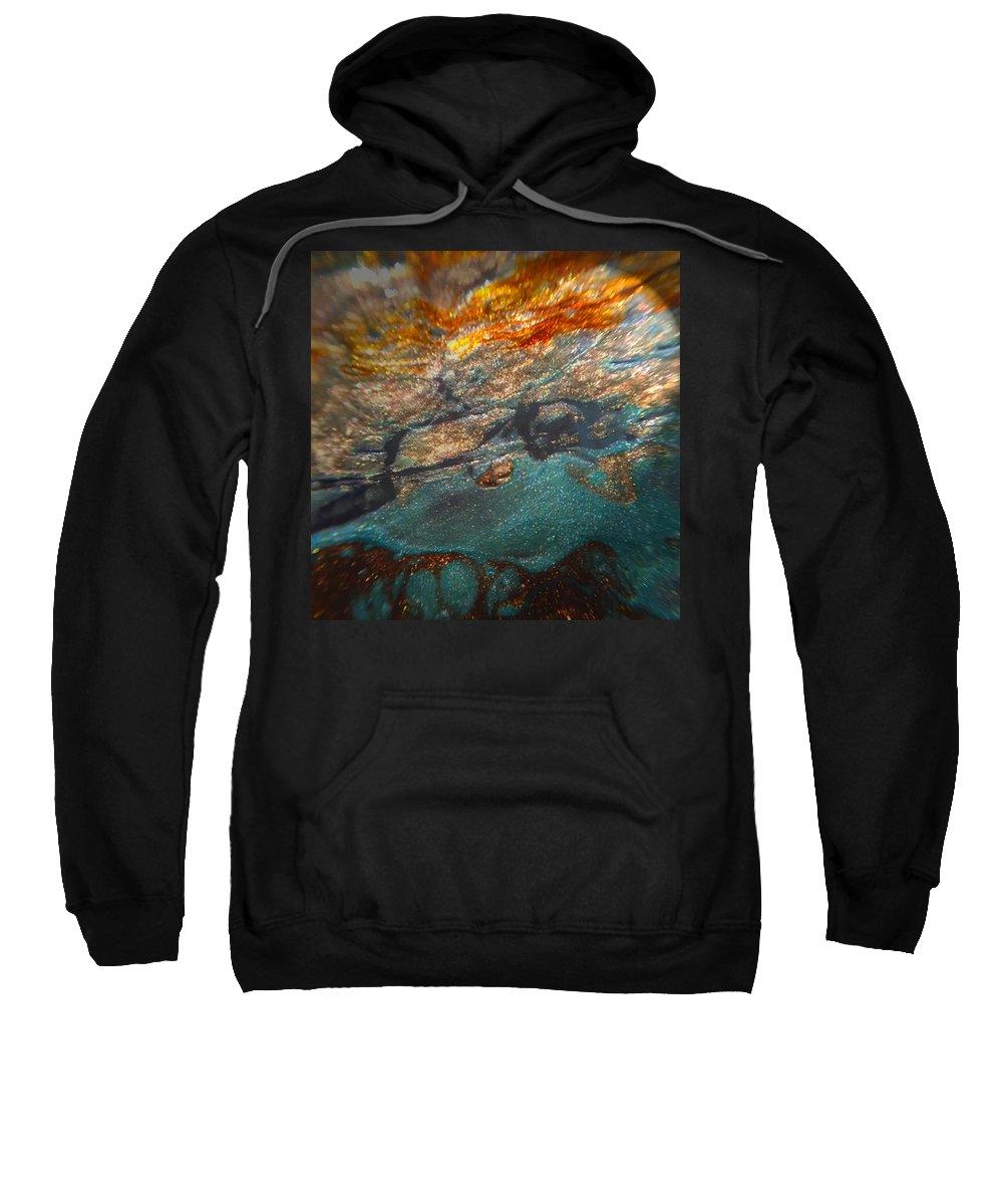 Glass Scape Sweatshirt featuring the photograph Nebula by Mykel Davis