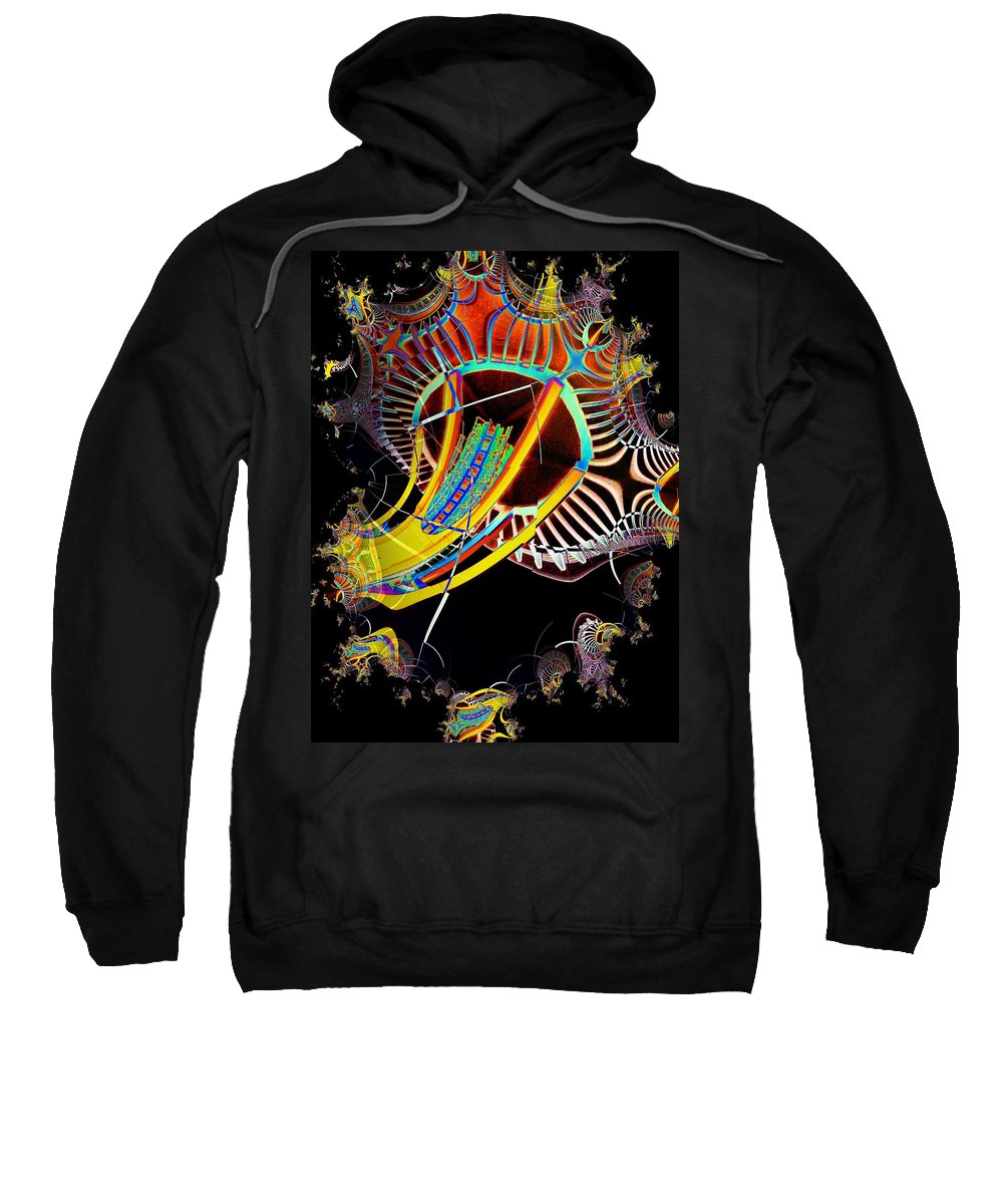 Seattle Sweatshirt featuring the photograph Needle In Fractal 2 by Tim Allen