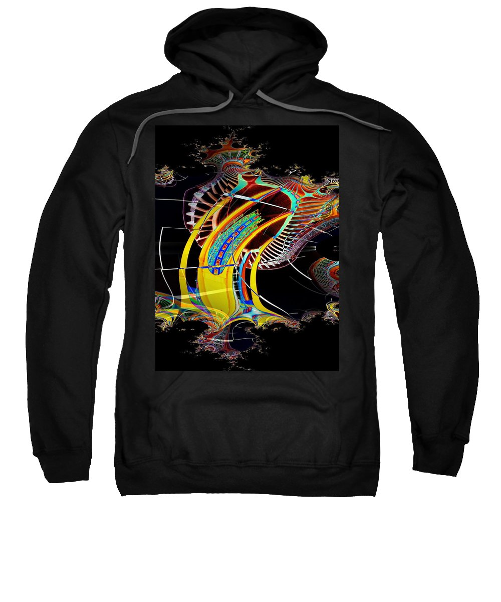 Seattle Sweatshirt featuring the photograph Needle In Fractal 4 by Tim Allen