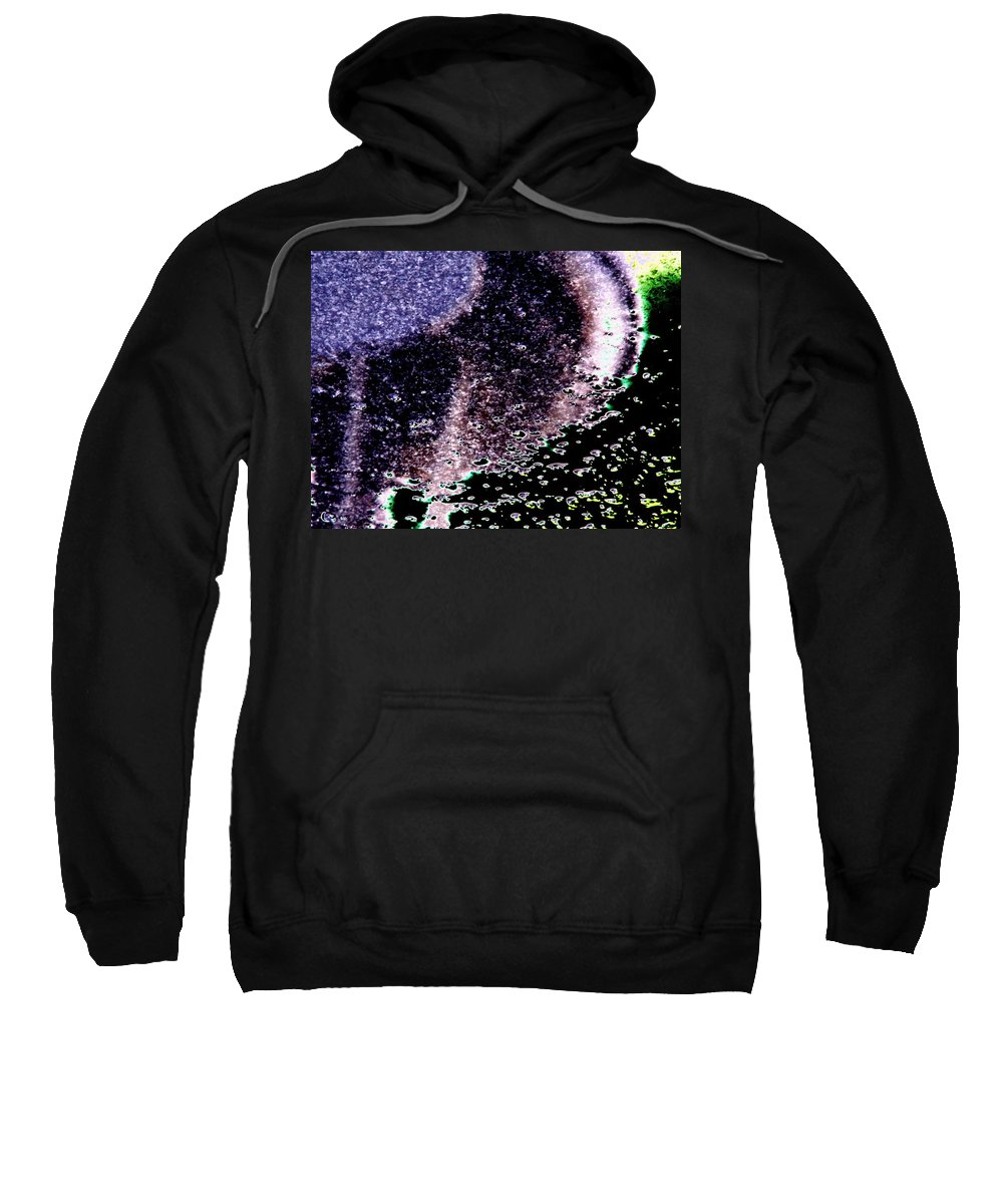 Seattle Sweatshirt featuring the digital art Needle Reflect by Tim Allen