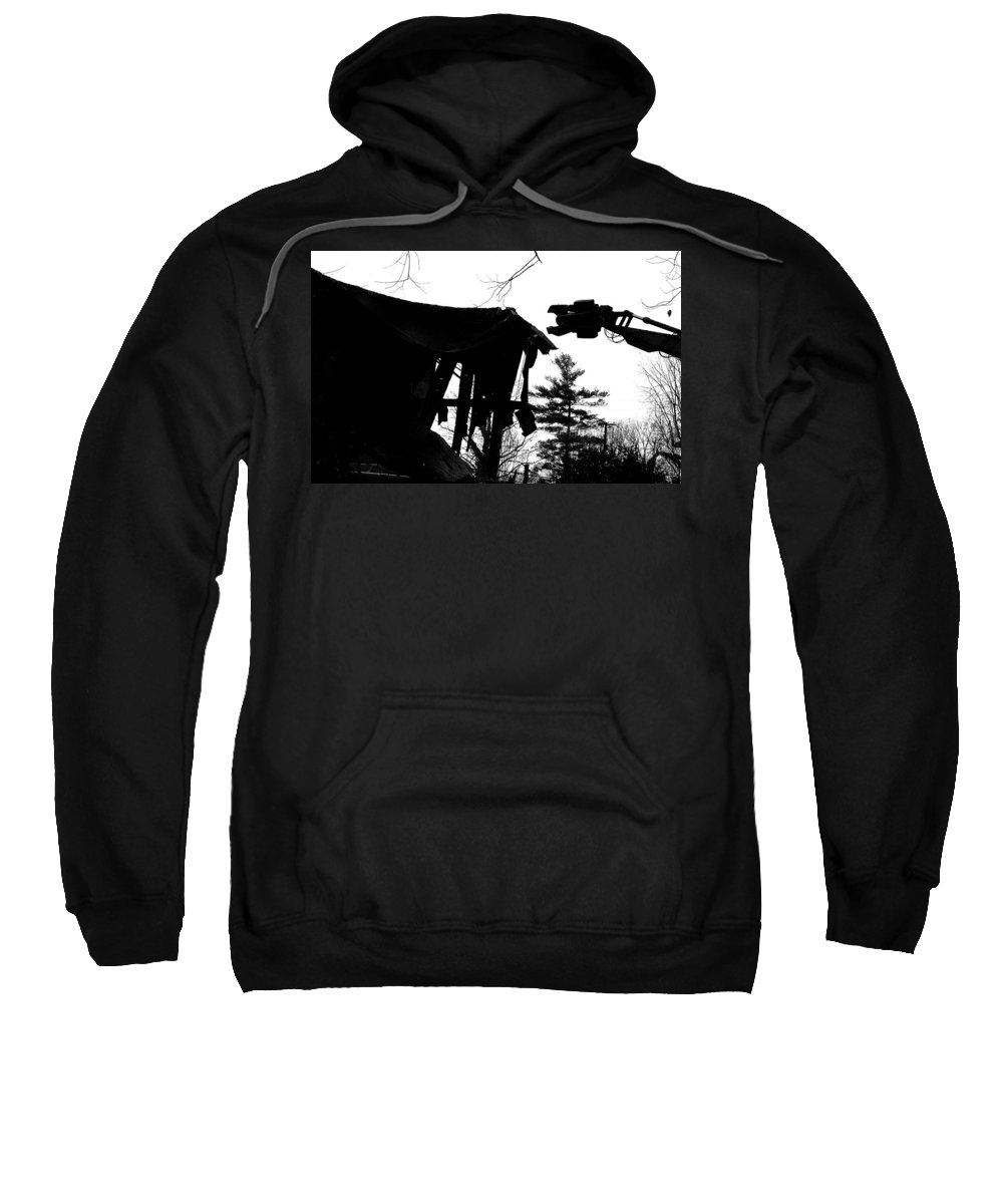 Machine Sweatshirt featuring the photograph Nessie by Jean Macaluso