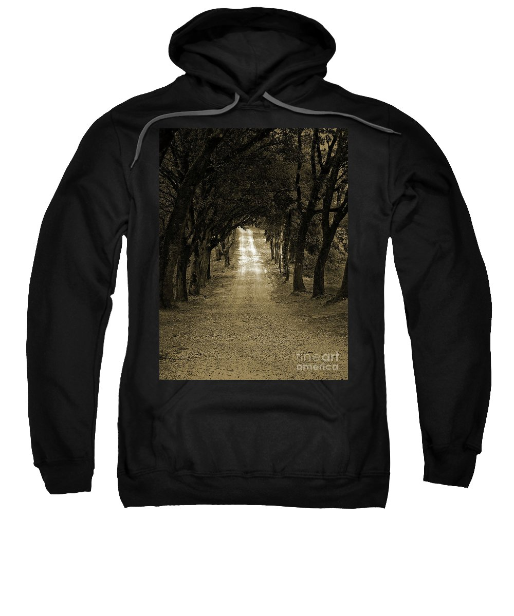 Autumn Sweatshirt featuring the photograph Never Ending by Angela Wright