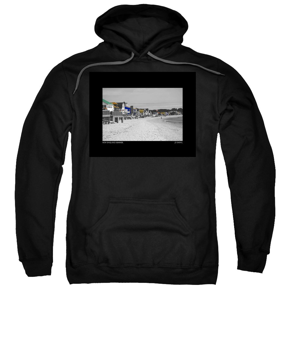 Summer Sweatshirt featuring the photograph New England Summer by J Todd