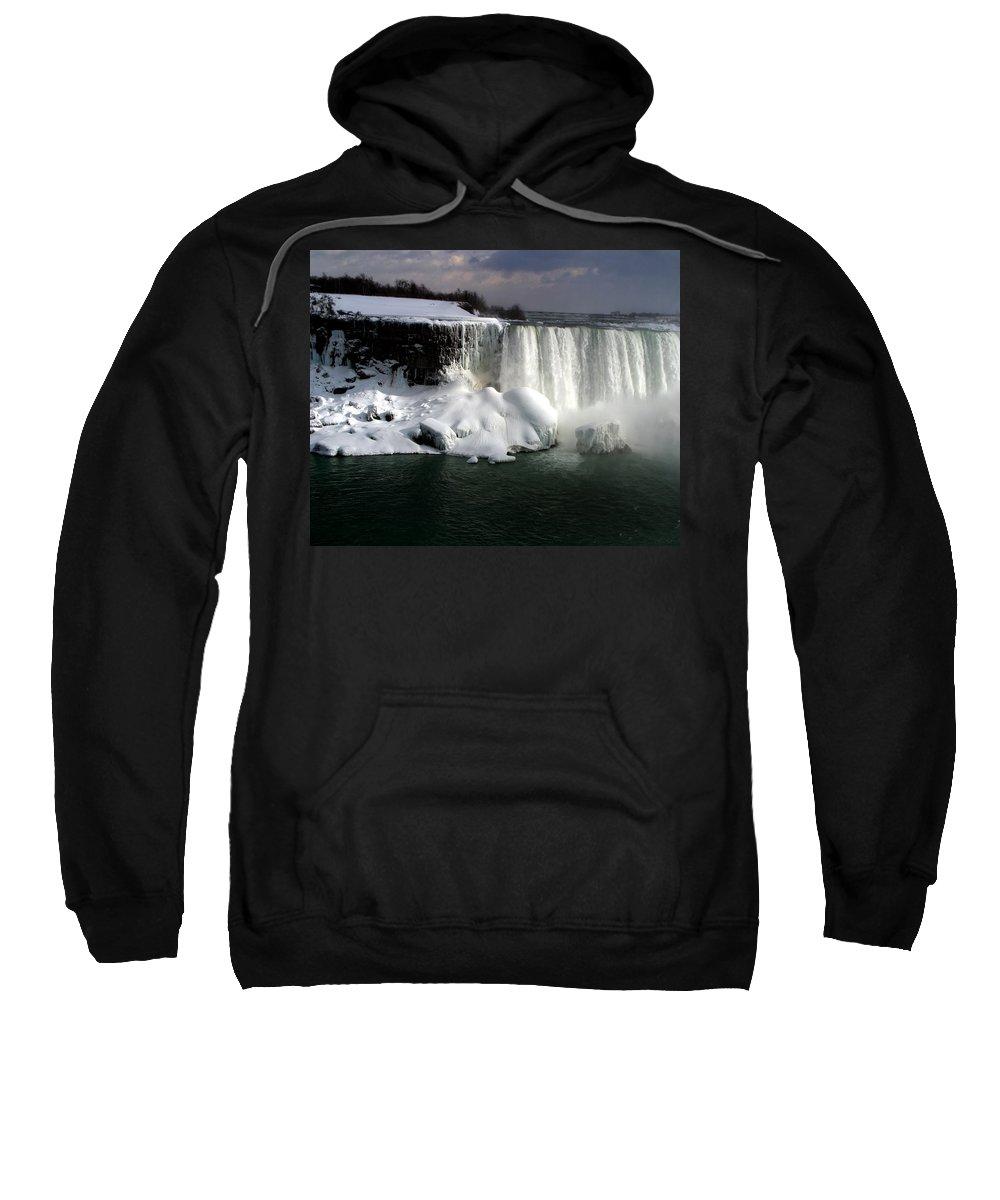 Landscape Sweatshirt featuring the photograph Niagara Falls 6 by Anthony Jones