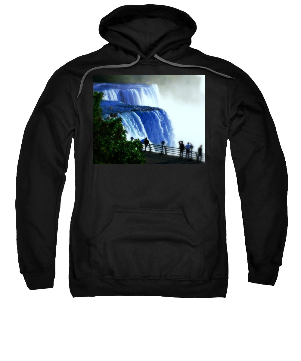 Niagra Falls Sweatshirt featuring the photograph Niagra Falls by Perry Webster