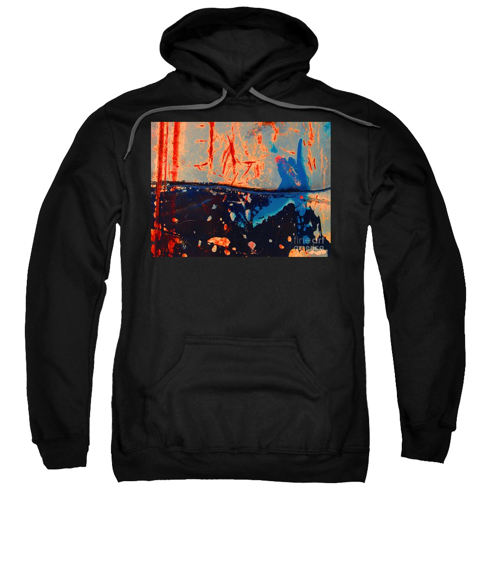 Texture Sweatshirt featuring the photograph Night And Day by Tara Turner