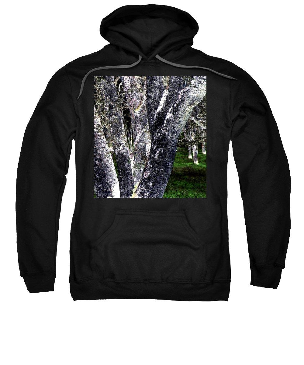 Night Sweatshirt featuring the digital art Night Grove by Will Borden