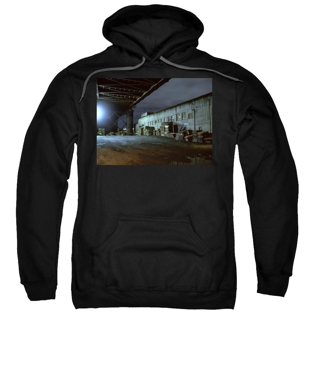Nightscape Sweatshirt featuring the photograph Nightscape 1 by Lee Santa