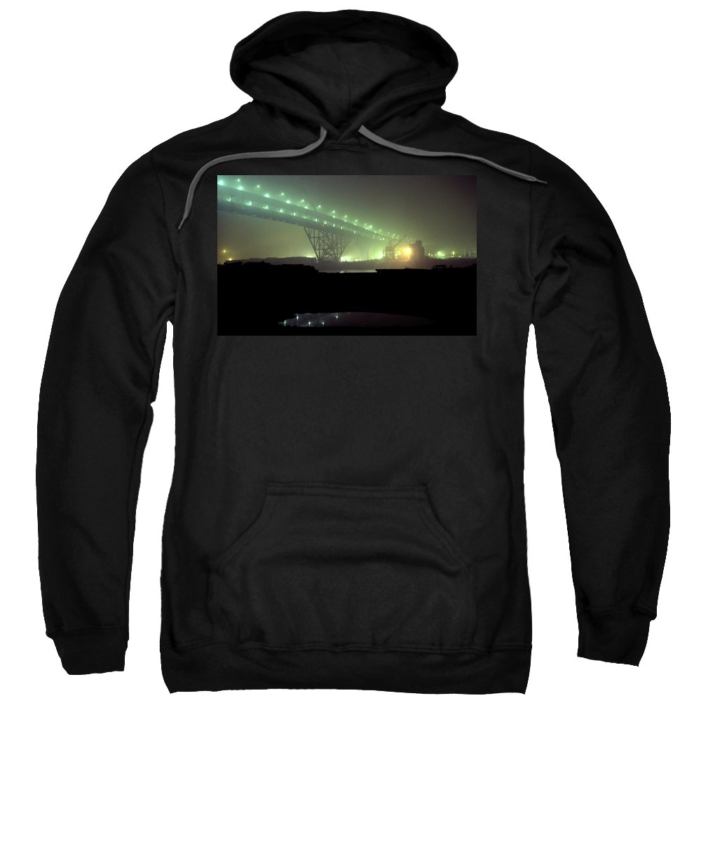 Night Photo Sweatshirt featuring the photograph Nightscape 3 by Lee Santa