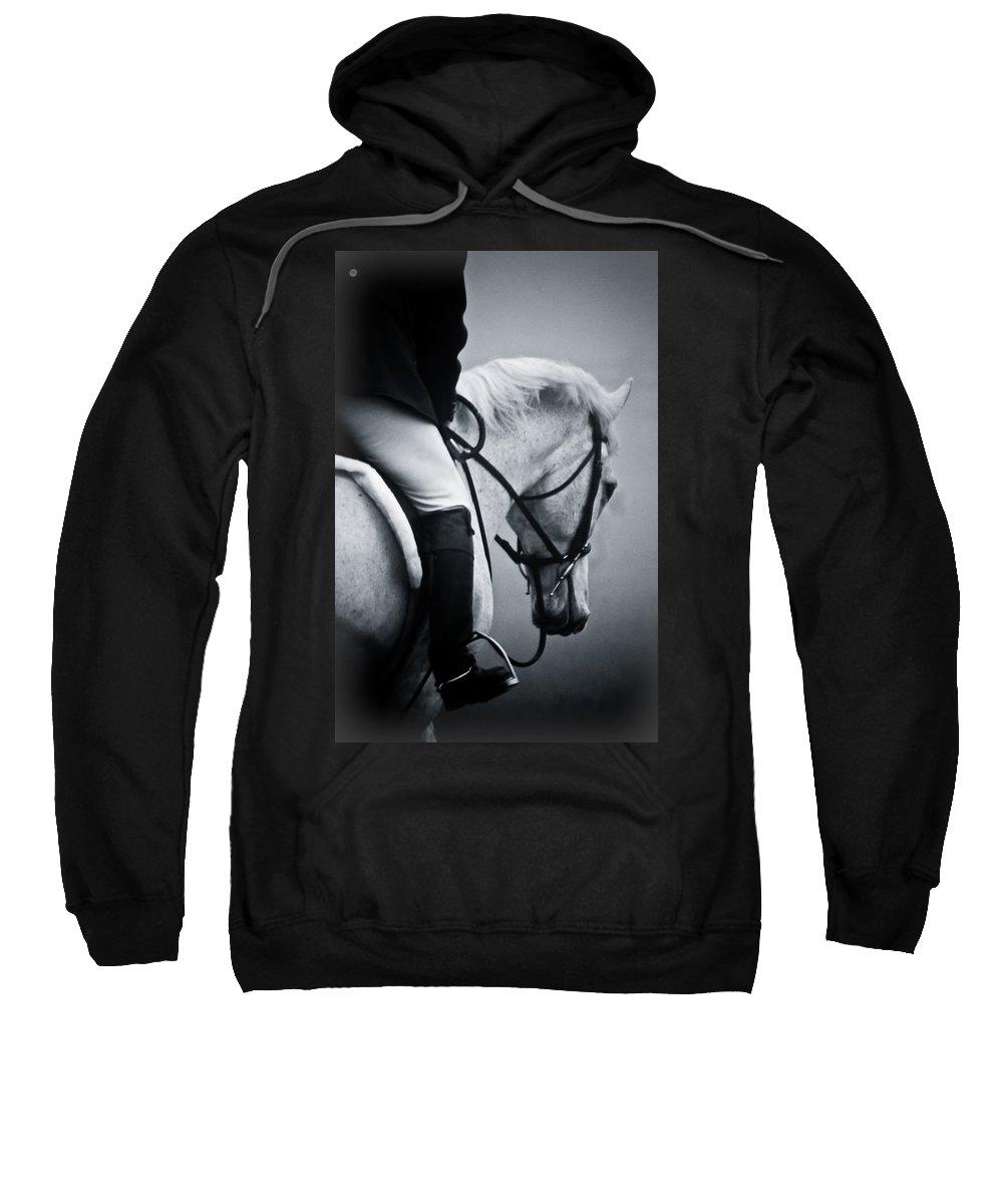 Horse Sweatshirt featuring the photograph Nobility by Hannah Breidenbach
